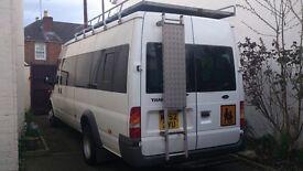 van roof bars rack platform with ladders Galvanised Aluminium