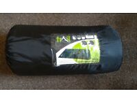 Double self-inflating camping mat