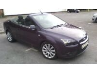 FORD FOCUS 2008 CONVERTIBLE DIESEL, SERVICE BOOK.