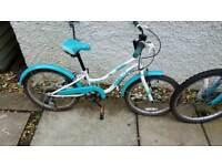 Girls bike 7 - 8 years