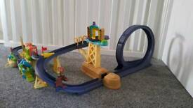 Chuggington diecast trains and tracks
