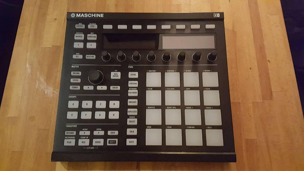 Native instrument bundle Maschine mk2+ komplete kontrol s61