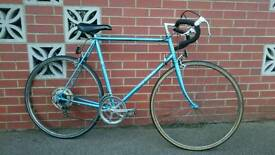 BSA vintage retro steel Road racer bike gents town city