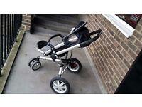 QUINNY BUZZ 3 Wheel Black Pushchair