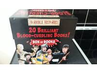 Horrible Histories blood-Curdling Box Of Books (missing 1 of 20)