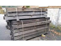 2.0m x 150 x 150, Air dried oak beams for sale