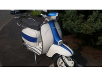 LAMBRETTA LI 150 SERVETTA (200 ENGINE)