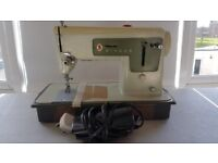 Singer 427 Sewing Machine-full working order with case & instruction booklet