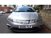 "Honda Civic 2006, diesel, low mileage, sport, 17"" alloys, mint condition, lady owner"