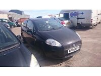 2006 FIAT PUNTO DYNAMIC, 1.4 petrol, breaking for parts only, postage available nationwide