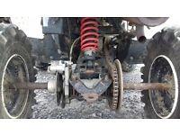 4 stroke 2wd automatic 325cc polaris quad