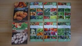 Garden Seeds Quality Vegetables Speedy Seed Collection Salad Spicy Aromatic Herb Potatoes Gardening