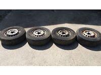Mercedes Sprinter Wheels Set + Wheel Nuts Bolts