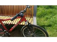 Carrera mountain bike,SHOX 21 gears perfect, excellent, £125ono