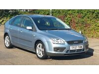 FORD FOCUS ZETEC CLIMATE 1.6 PETROL 2007 07REG 61K MILES NEW MOT CLEAN&TIDY PRICED TO SELL