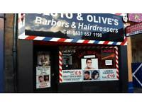 Barber Wanted Part Time