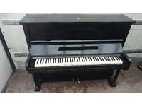 Very Nice Black 'Bamberg' Upright Console Piano - CAN DELIVER