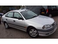 2001 Toyota Avensis 1.8 VVT-i GS 5dr ** FULL SERVICE HISTORY SUPERB CAR not mondeo vectra accord 407