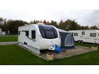 2016 Swift Freestyle twin axle 6 berth. Not been towed apart to where it is now.