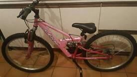 Girls 22 inch Apollo bike.