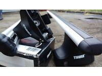 Thule Aero roof bars - Nissan Elgrand 97 - 01