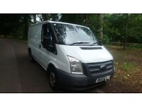 swb transit van , EURO 5 engine , 6 speed ,tested ready to get in and go only £3895ono px poss