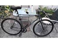 Brand new condition single-speed fixed gear road bike straight bar ready to go open to offers