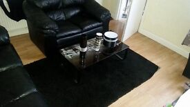 2 seater + 3 seater Sofa + all furniture and decoration o picture