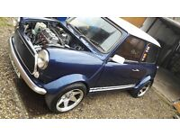 Austin Mini City 1982 - MG 1275cc engine + MODS - FANTASTIC CONDITION Restored by MINI MAX in 2010