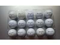 GOLF BALLS....TAYLORMADE, NIKE, 40 NIKE IN EXCELLENT CONDITION