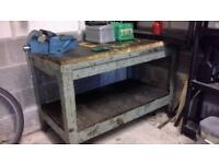work bench with vice for sale