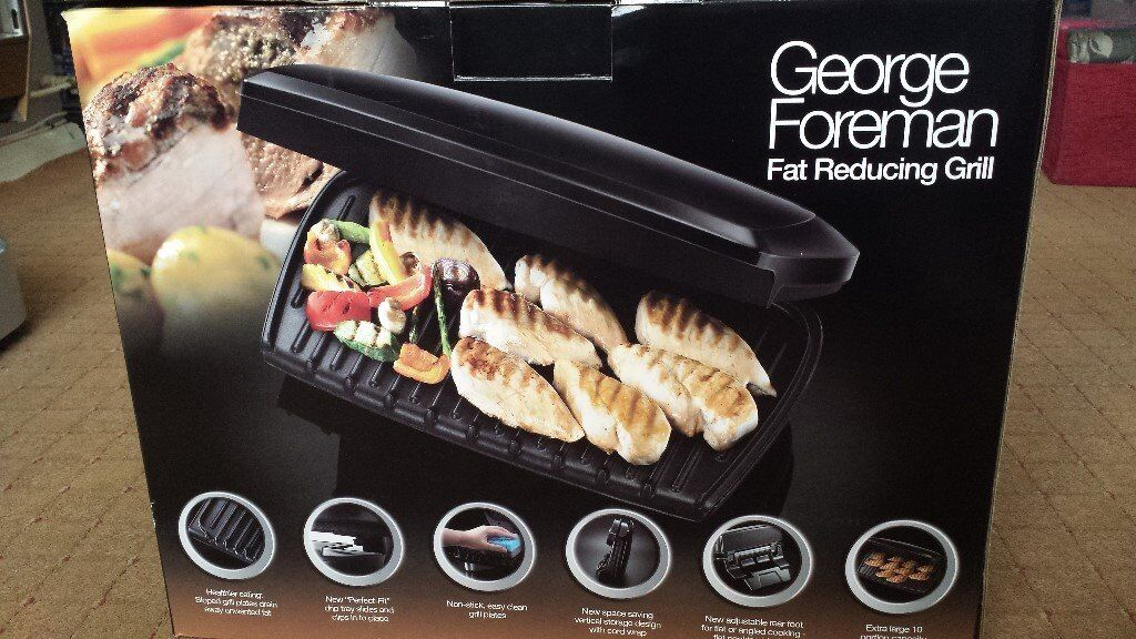 GEORGE FOREMAN 10-PORTION GRILL
