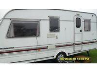 swift 5 berth touring caravan