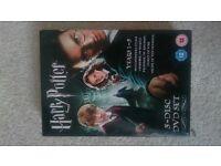 Harry Potter DVD Set - Years 1 - 5