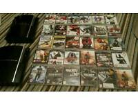 2x FAULTY PS3 + 30 GAMES + 2 CONTROLLERS