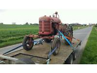 Tractor / plant/car transport up to 3 ton