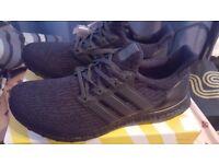 Adidas Ultra boost Tripple Black UK 10.5 (Brand New)