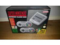 Snes mini (new in box,never opened)