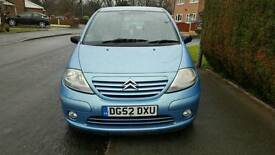 2003 Citroen C3 5dr 1.3 great small car, drives great. MOT'd and full service history!