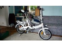 DILLENGER CHEETAH 16 ELECTRIC BIKE FOLDABLE WITH ELECTRIC LIGHT AND CHARGER