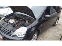 LHD HONDA STREAM MPV 7 SEATS AUTOMATIC GEAR LEFT HAND DRIVE FROM GERMANY PETROL ENGINE