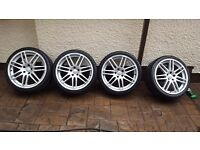 """19"""" 5x112 rs4s wheels and tyres"""