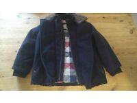 Debenhams Junior J Winter Coat 4-5 Years