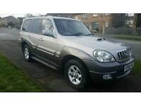 2006 HYUNDAI TERRACAN CRTD 2.9 DIESEL AUTOMATIC not land cruiser amazon ML270 terrano x trial