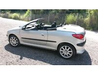 £595.00 Peugeot 206 CC 51 reg Summer Fun