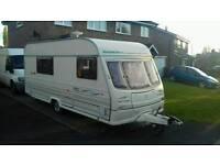Cheap family caravan, fully loaded