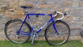 "22"" road bike, Holdsworth 501 Cromaloy frame"