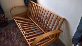 Wooden Sofabed base - for a double futon mattress