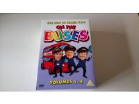 on the buses boxsets x 2,series one episodes1-7,series 2 episodes 1-6,best of series 3 and 4 vol 1-4