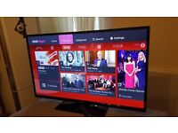 Panasonic 48-inch SMART SLIMLINE LED FULL HD TV with built in Wifi, Freeview HD, good condition